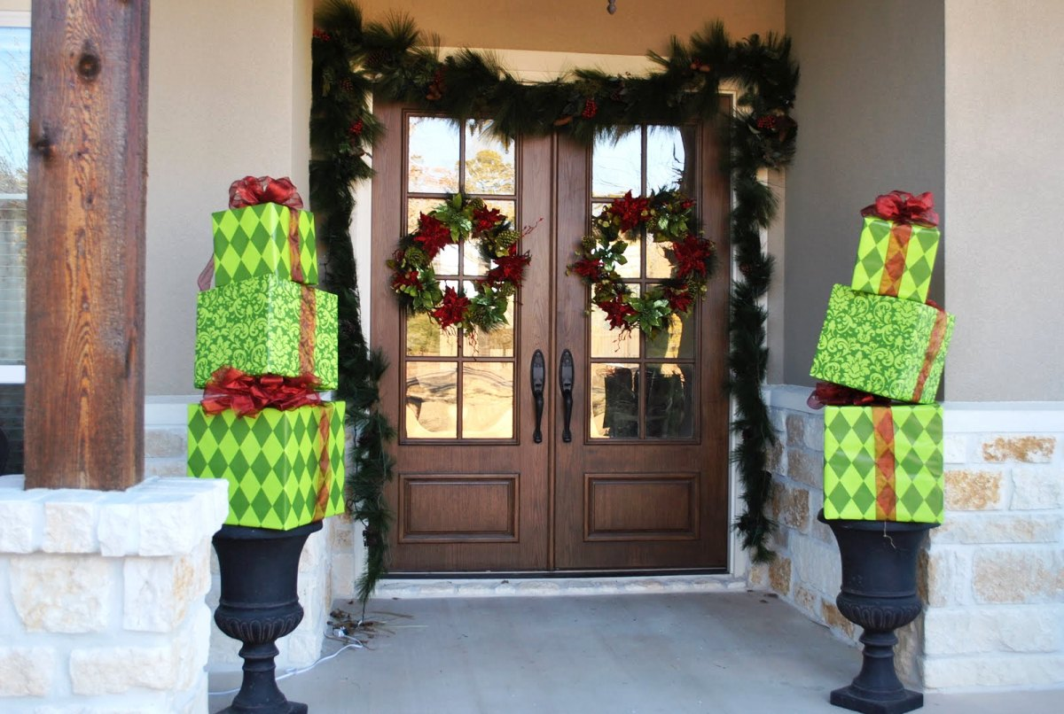 Incroyable Adorable Christmas Front Door
